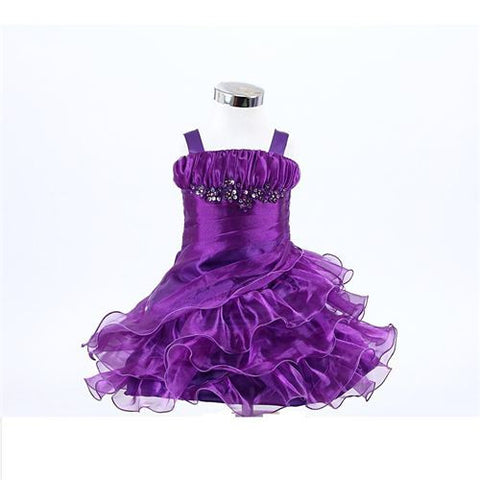 FK 8080 Purple Dress - Growing Kids