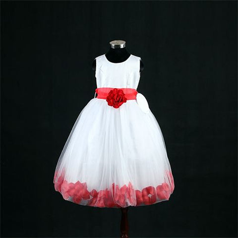 FK8093 Red Dress - Growing Kids