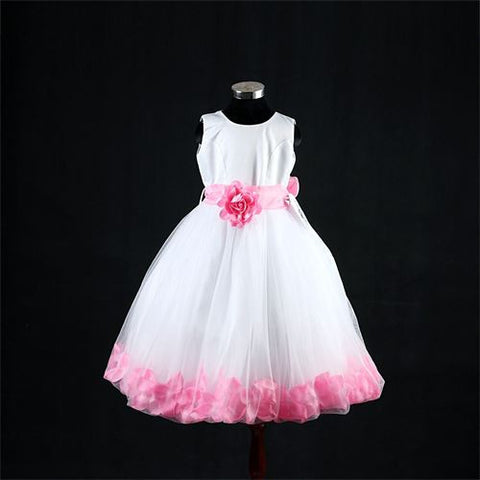 FK8093 Pink Dress - Growing Kids