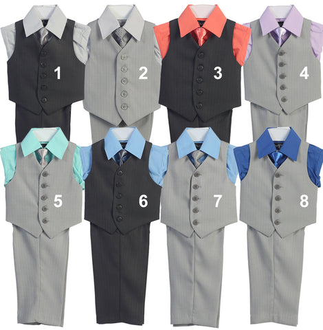 Vest Set #102-5 - Growing Kids