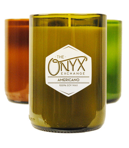 Americano Wine Bottle Candle - Onyx Exchange - 1