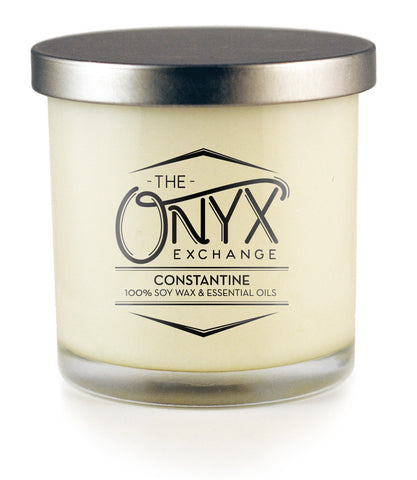 Constantine - Essential Oil Lux Candle - Onyx Exchange