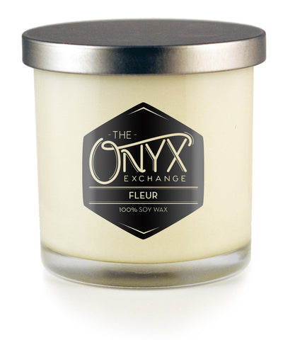 Fleur Lux Candle - Onyx Exchange