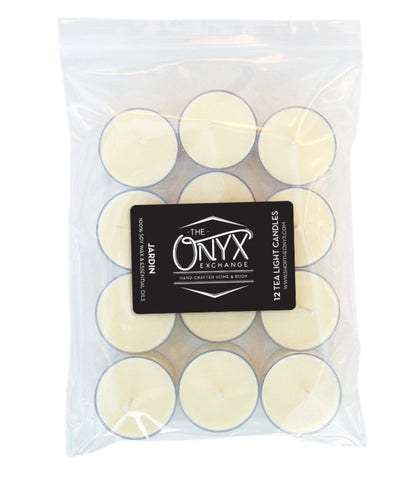 Jardin - 12 Pack Essential Oil Tea Lights - Onyx Exchange