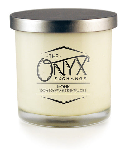 Monk - Essential Oil Lux Candle - Onyx Exchange