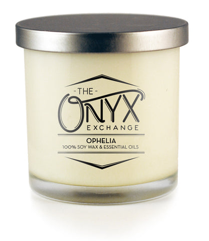Ophelia - Essential Oil Lux Candle - Onyx Exchange