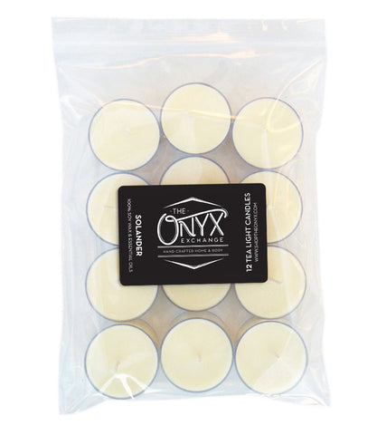 Solander - 12 Pack Essential Oil Tea Lights - Onyx Exchange
