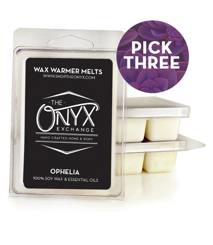 Pick 3 - Soy Wax Melts - Onyx Exchange - 1