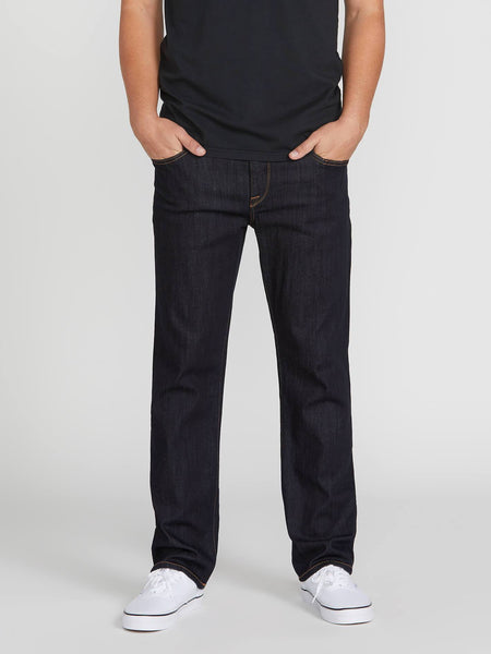 VOLCOM - SOLVER MODERN FIT JEANS - RINSE