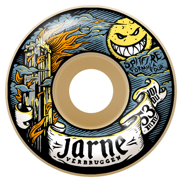 Spitfire Wheels - F4 101D JARON MOONSHINE 53MM