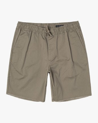"RVCA - Weekend 19"" Elastic Short"