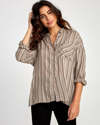 RVCA - Hera Oversized Button-Up