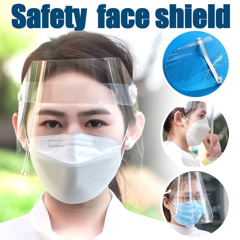 Safety Clear Grinding Face Shield Screen Visor Eye Protection