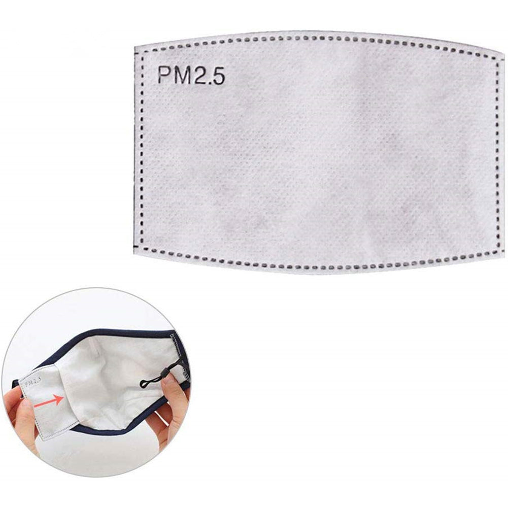 4/10 Pcs Anti-fog And Dust-proof Square PM2.5 Mask Filter Five-layer Filtration