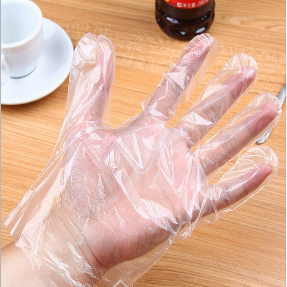 Food Service Clear Vinyl Gloves, Disposable Glove