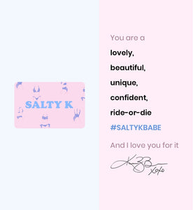 Salty K Swim Gift Card