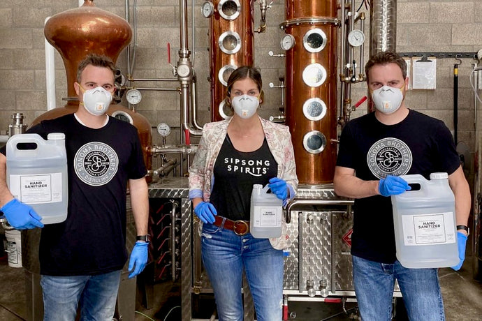 These Local Distilleries Are Keeping Hand Sanitizer Flowing