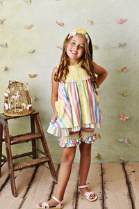 Over the Rainbow Tunic w/ Shortie