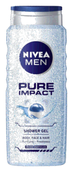 Shampo Trupi Nivea Pure Men 500ml