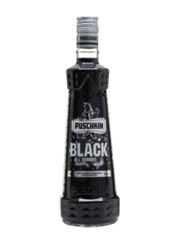 Vodka Puschkin Black 1L 40% vol.
