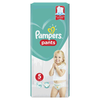 Pelena PAMPERS Pants Jumbo Nr 5 Junior (pesha 12-17kg) 48 cope/pako