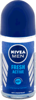 Antidjerse Roll On Nivea Men Fresh Active 50ml
