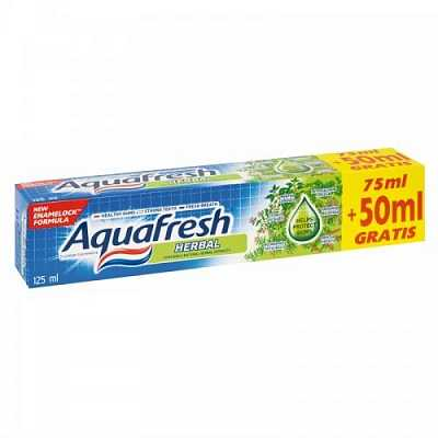 Paste Dhembesh AQUAFRESH Herbal 75ml+50mlGR
