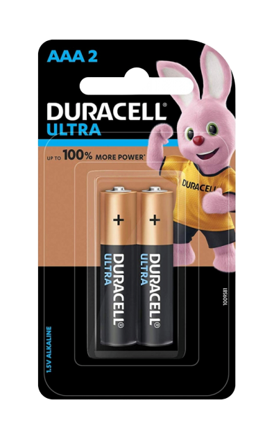 Bateri Alkaline AAA Duracell Ultra Power 2cope