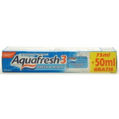 Paste Dhembesh AQUAFRESH Fresh & Minty 75ml+50ml