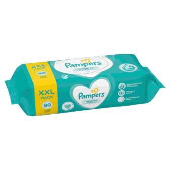 Leter Lagur Pampers Single Sensitive 80 cope/pako