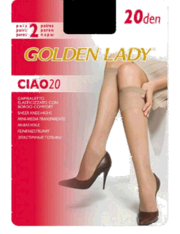 Corape Golden Lady Ciao 20 Den Melon 2Pale
