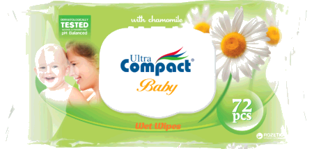 Leter Lagur Ultra Compact Baby Chamomile 72 cope/pako