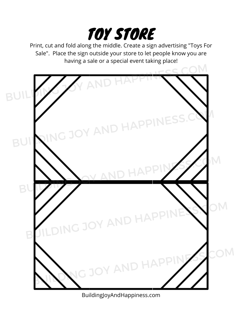 Toy Store - Play Time Fun - Digital Download