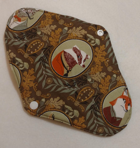 Dapper Forest Animals Reusable Pads