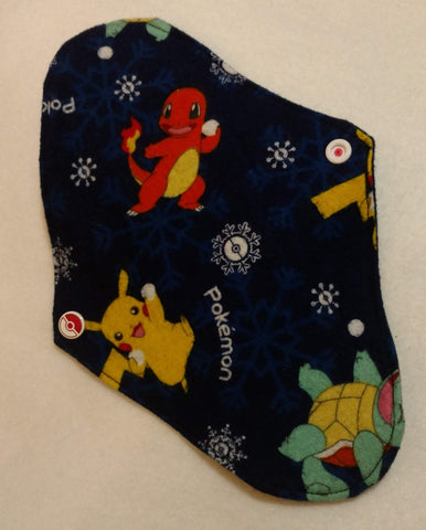 Pokemon with Snowballs Reusable Pads