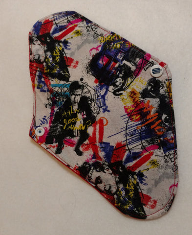Dr Who Graffiti Reusable Pads