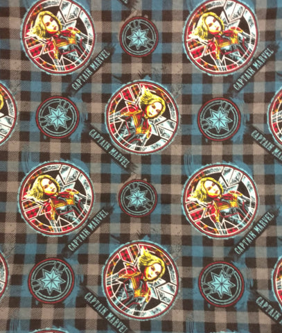 Captain Marvel Flannel Reusable Pads