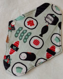 Sushi Flannel Reusable Pads