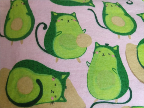 AvoCat-o Flannel Reusable Pads