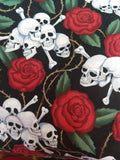Skulls and Roses Reusable Pads