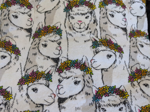 Gay Llamas Flannel Reusable Pads