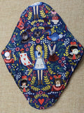 Alice in Wonderland inspired Reusable Pads