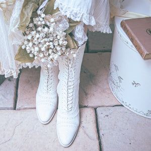 [Pre-order] Edwardian Era Antique-style Boots [Limited Edition]