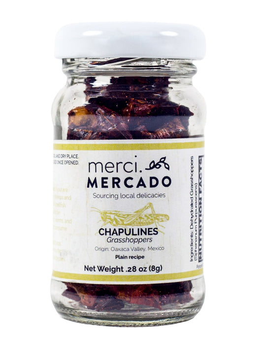 MerciMercado Chapulines Plain Recipe .28 Oz