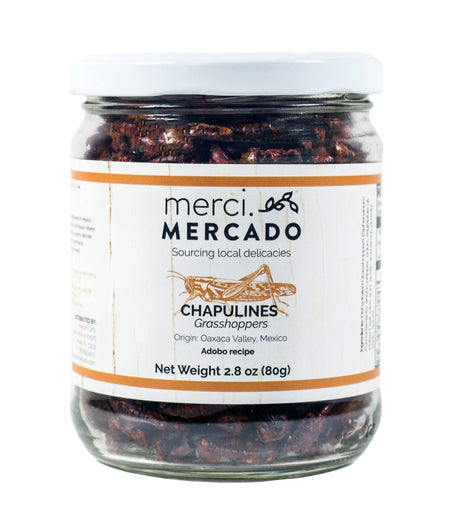 MerciMercado Chapulines Adobo Recipe 2.8 Oz