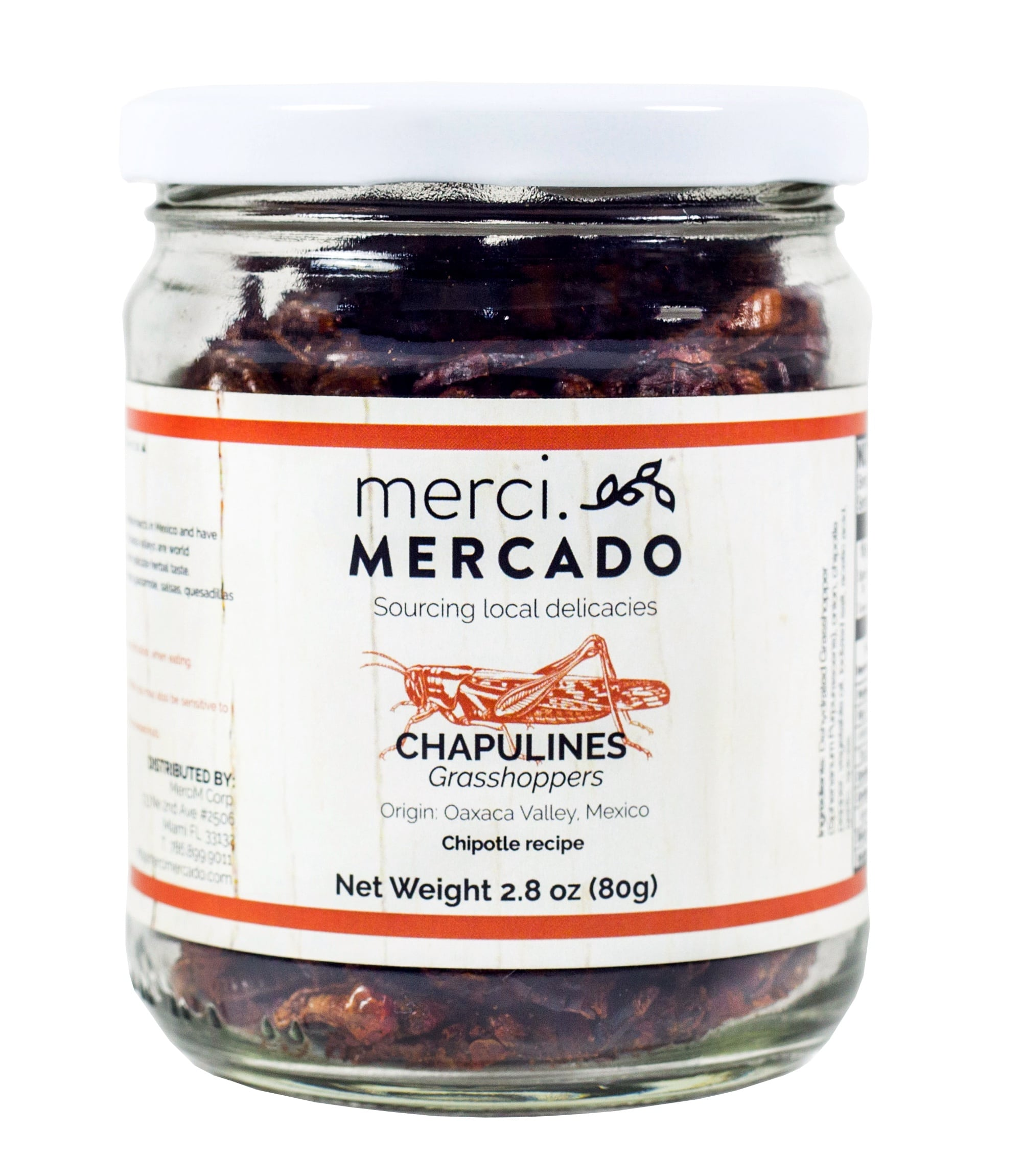 MerciMercado Chapulines Chipotle Recipe 2.8 Oz