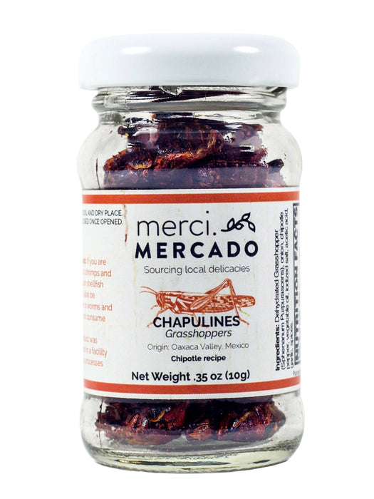 MerciMercado Chapulines Chipotle Recipe 0.35 Oz