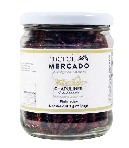 MerciMercado Chapulines Plain Recipe 2.5 Oz