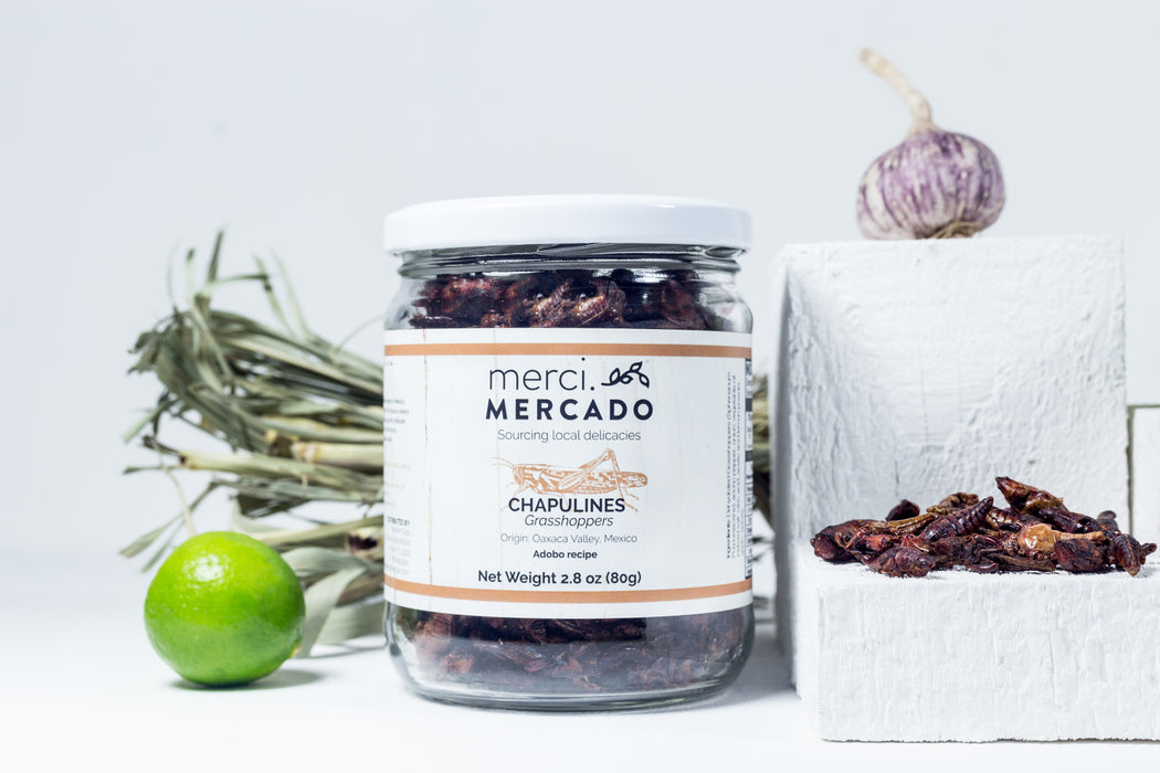 MerciMercado Chapulines Adobo Recipe Front View