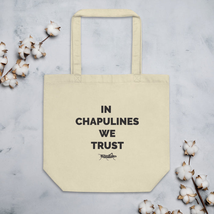 MerciMercado In Chapulines We Trust Eco Tote Bag